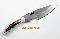 Silver Stag  Slab Series Shires Caper Hunting Knife D2 Steel