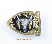 Arrowhead Buffalo Gold Vivatone  Belt Buckle