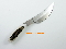 Silver Stag Smith Slab Hunting Knife D2 Tool Steel