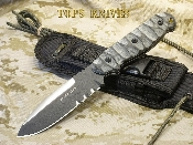 TOPS Knives Black Star Evolution Knife 1095 HC Alloy
