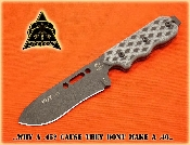 TOPS Knives FDX45 Fixed Blade 1095 Alloy Micarta