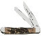 Case Prime XX India Stag Handle Trapper Folding Knife