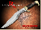 Down Under Knives DUKRRR Red Rock Raptor Knife
