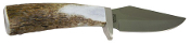 Silver Stag  Bird and Trout Knife Elk Stick  D2  Steel