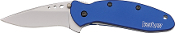 Kershaw Blue Scallion Folding  Knife