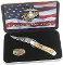 Case Cutlery USMC Russlock Folding Knife Gift Set