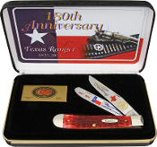 Case Limited Edition Texas Ranger Trapper Folding Knife