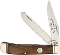 Colonel Coon CC54W Walnut Handle Trapper Stainless Blades