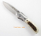 CRKT Carson M4 Stag Handle Pocket Knife A/O Stainless Blade