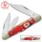 Kissing Crane 5507 Dynamite Red Whittler Pocket Knife